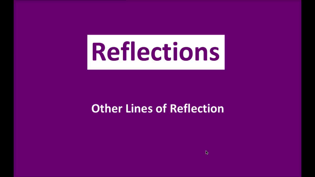 Math 8 Q3 NEW - Other Lines of Reflection.mp4