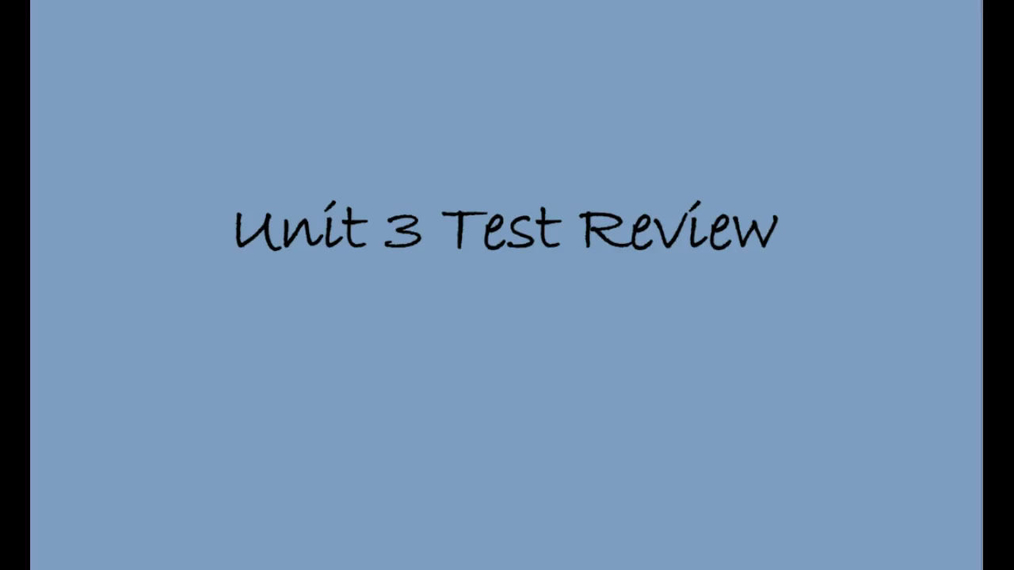SM II Honors Unit 3 Test Review.mp4
