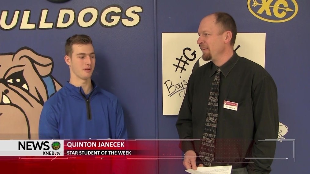 Platte Valley Company's Star Student of the Week- Quinton Janecek