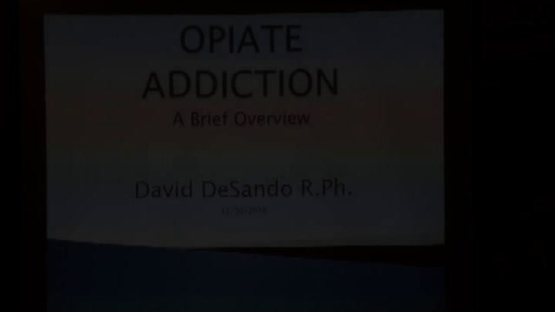 Opiate Addiction-Rotary -- 11-30-16