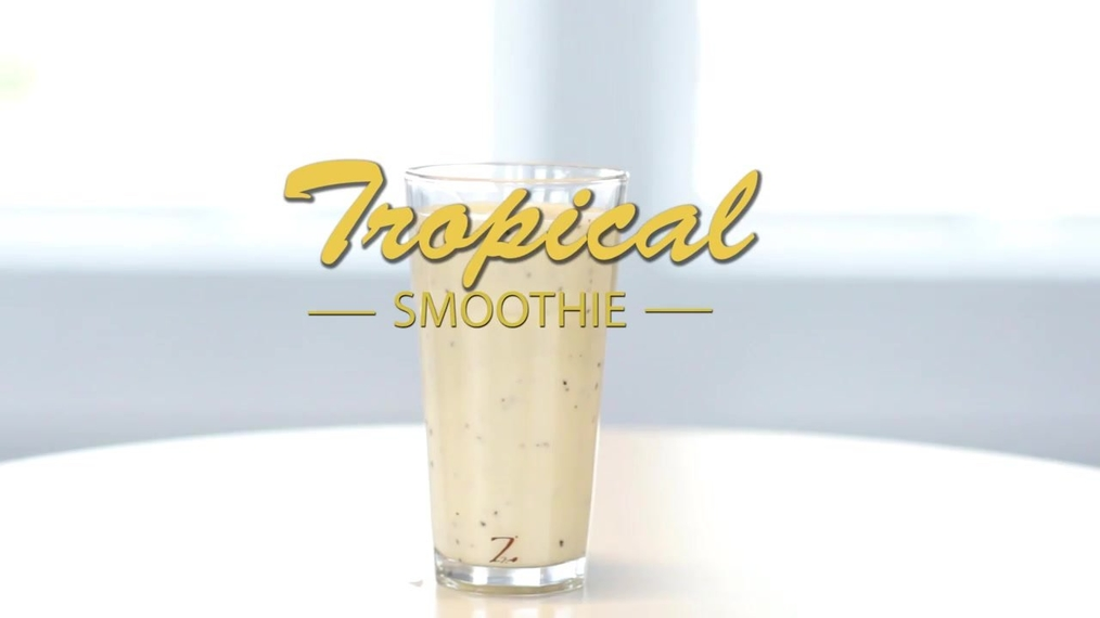 Zinzino Tropical smoothie with BalanceOil