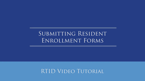 Submitting Resident Enrollment Forms.mp4