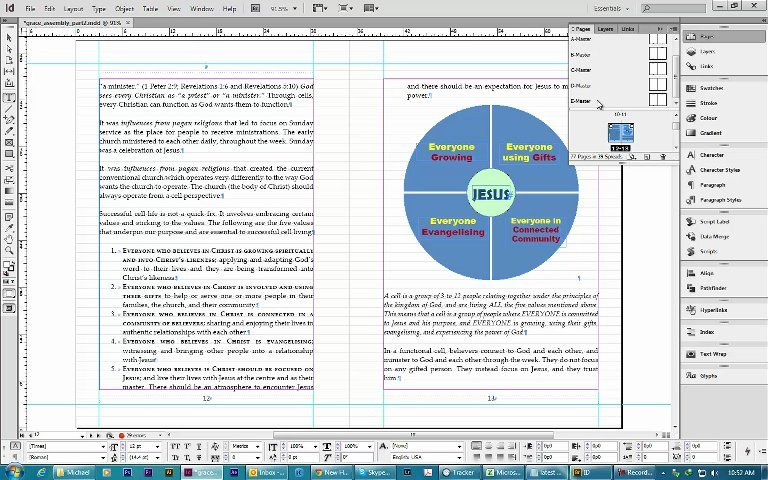 Layout your books in InDesign