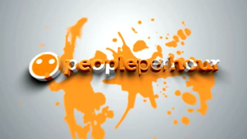 Splash up your logo with 2 color painting
