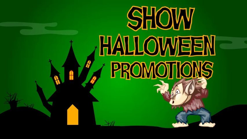 Make an exclusive Halloween video