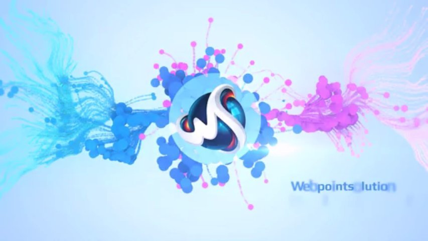 create colorful logo reveal animation video(7 samples available) with music