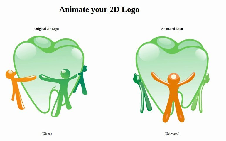 Animate your 2D logo