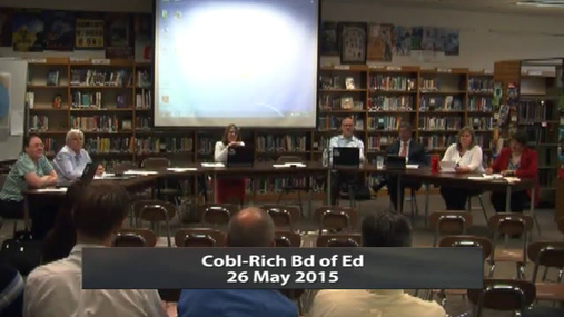 CRCS Board of Ed 26 May 2015