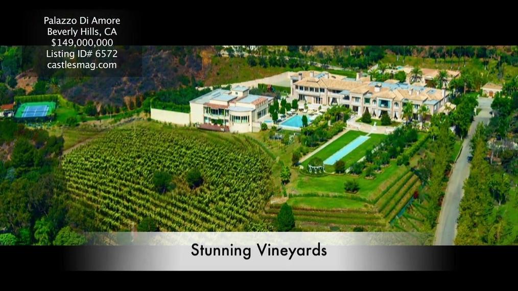 A Majestic Mediterranean Villa above Beverly Hills