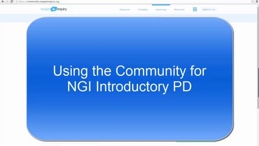 GRCD - Using the Community to Support Introductory PD