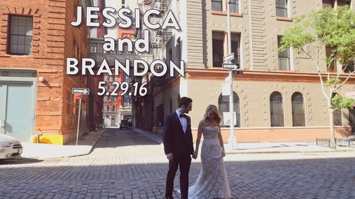 Jessica and Brandon WeddingGram