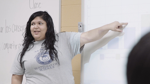 Meet Claret, a LENA Start Coordinator with Huntsville City Schools