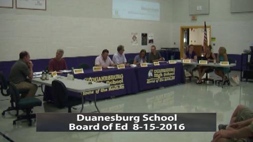 Duanesburg BOE -- Aug -16-2016