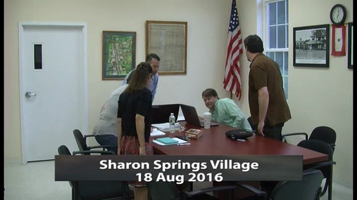 Sharon Springs Village --18 Aug 2016