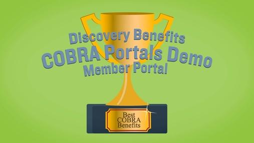 COBRA Member Portal Demo