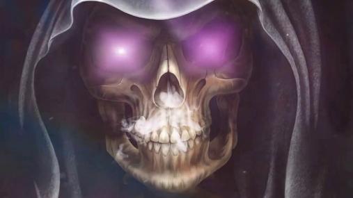 Steamy skull