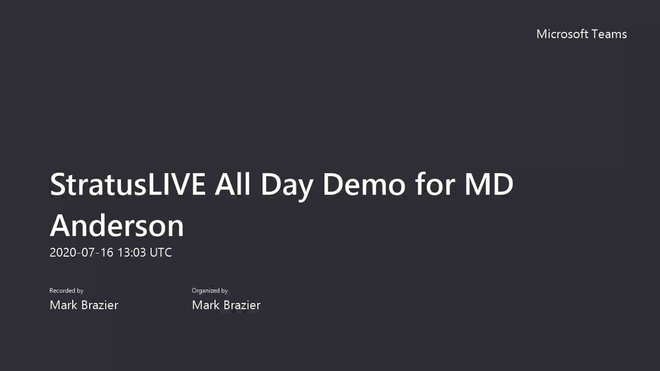StratusLIVE Demo Part 1 - Mobile and ClickDimensions.mp4