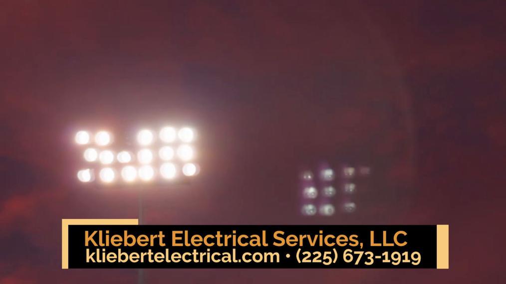 Electrical Services in Geismar LA, Kliebert Electrical Services, LLC