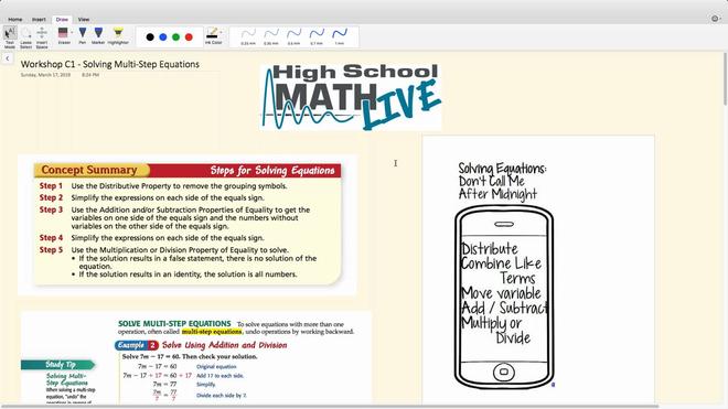 Brush Up Workshop C1 - Solving Multi-Step Equations.mp4