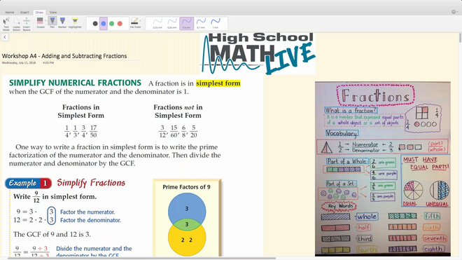 Brush Up Math Workshop A4 - Adding and Subtracting Fractions.mp4