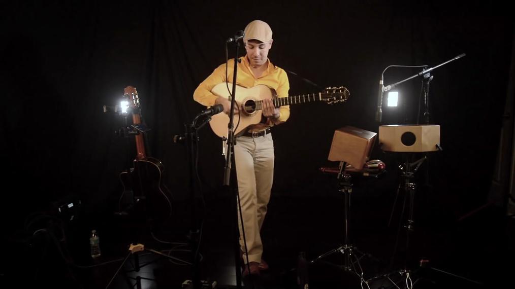 Guitarist R.A.