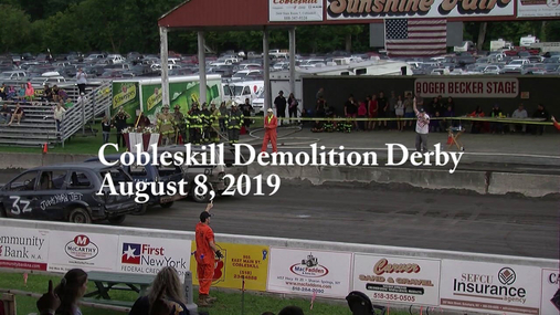 Cobleskill Demolition Derby Aug.8, 2019.mpg