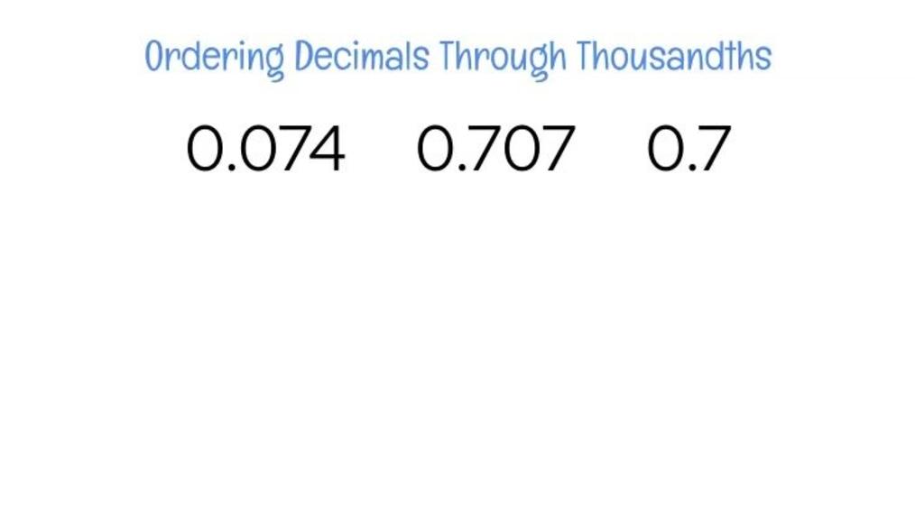 Ordering Decimals Through Thousandths.mp4
