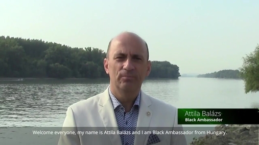 Video message from Black Crown Attila Balázs