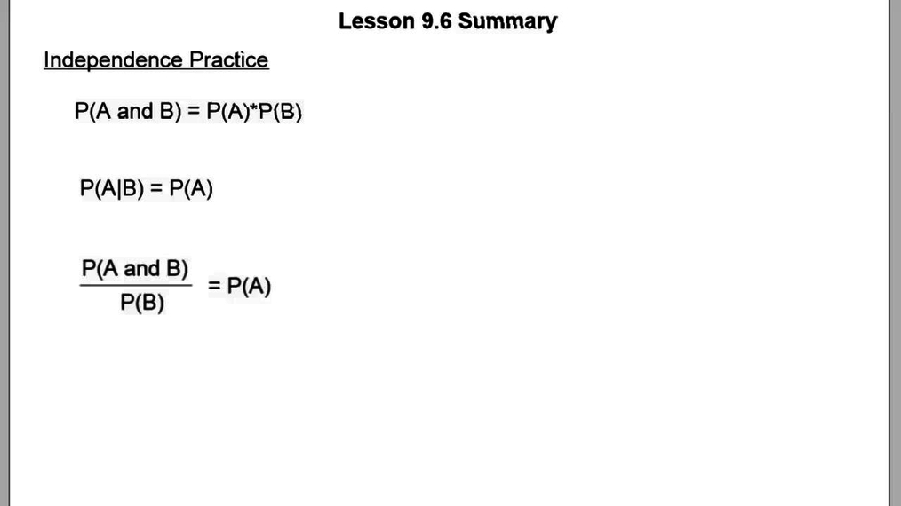 Lesson 9.6 Summary.vid
