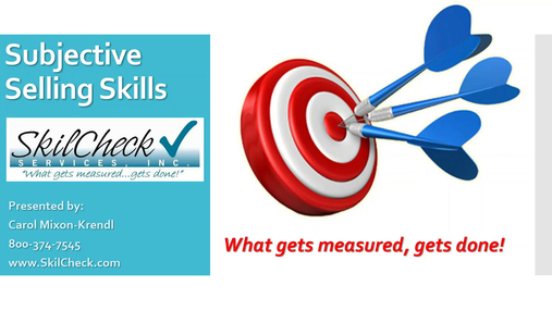 Subjective Selling Skills - SkilCheck, Inc..mp4