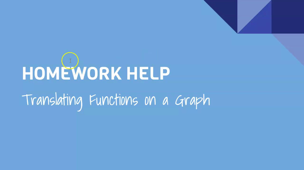 HH Translating Functions on a Graph.mp4