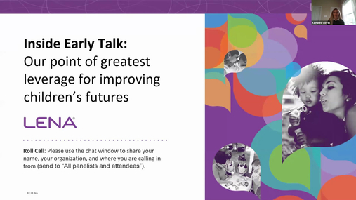 Webinar: Inside Early Talk