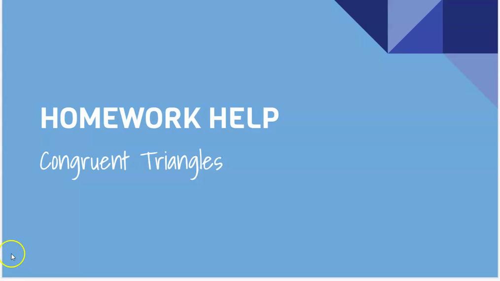 Congruent Triangles.mp4
