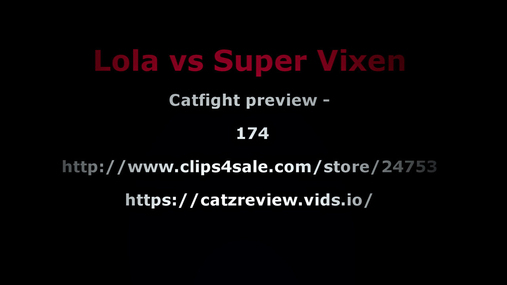 Lola vs Super vixen preview 4K
