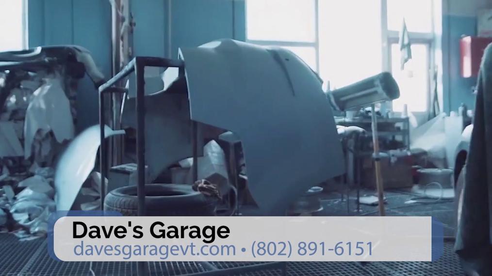 Auto Repair in Milton VT, Dave's Garage