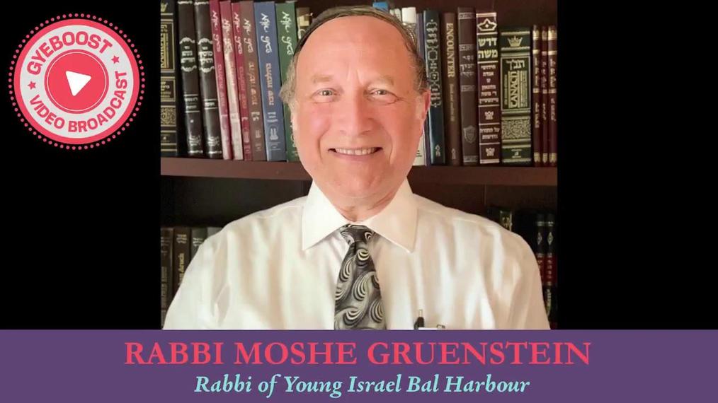 676 - Rabbi Moshe Gruenstein - La Lucha Misma [Vaishlaj]
