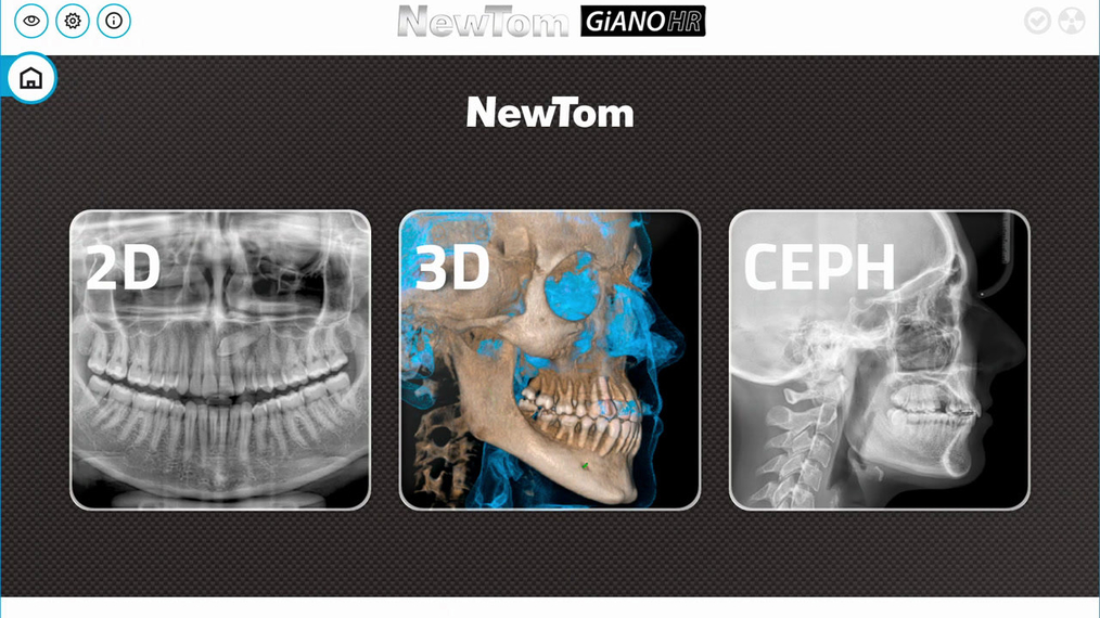 GiANO HR 3D Airway Acquisition