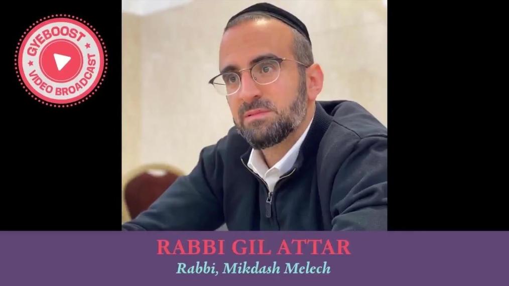 586 - Rabbi Gil Attar - Rabi Shalom Shvadron y el Juego de Futbol.