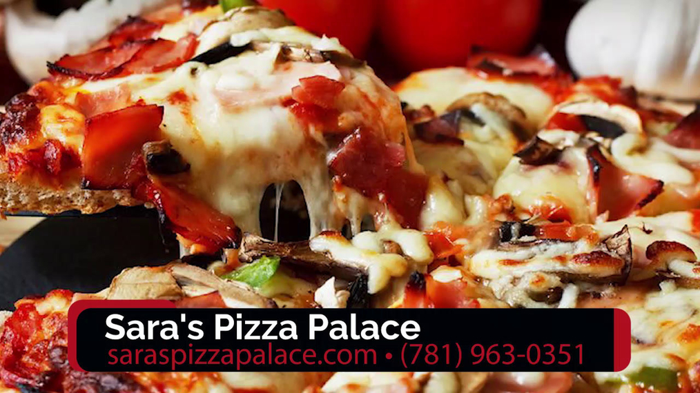 Pizza in Holbrook MA, Sara's Pizza Palace