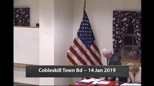 Cobleskill Town Bd --14 Jan 2019