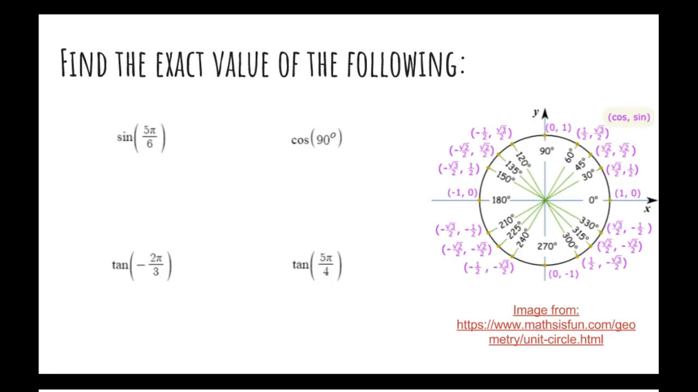 Unit 6 Test Review_ Finding Exact Values.mp4