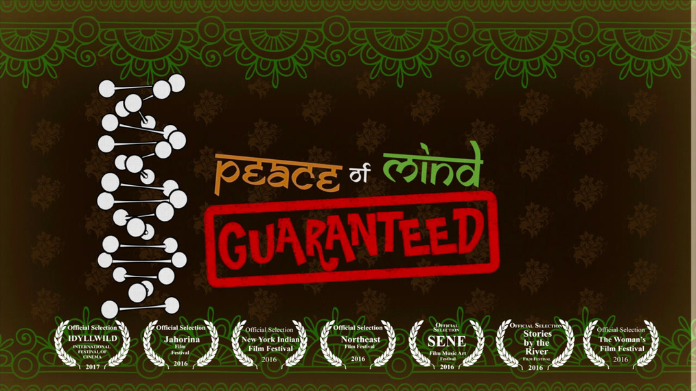 """Peace of Mind Guaranteed"" 1st place for Comedy and Best Ensemble Cast, & 2nd place for Best Director"