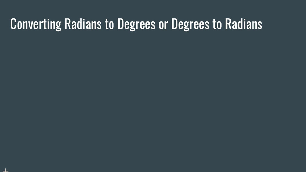 Converting Radians and Degrees.mp4
