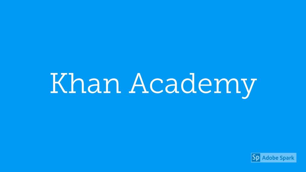 Math 7 Join Our Khan Academy Class