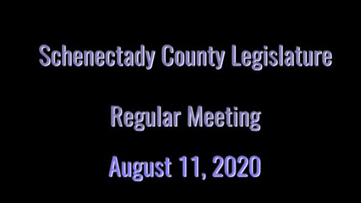 Schenectady Co Legislature Reg -- 11 Aug 2020