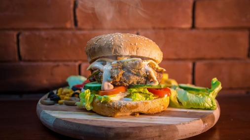 Steamy burger