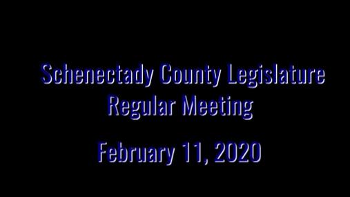 Schenectady Co Legisleture Reg  11 Feb 2020