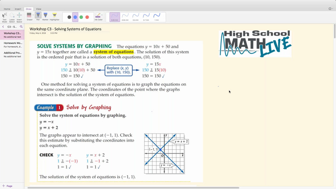 Brush Up Workshop C3 - Solving Systems of Equations.mp4