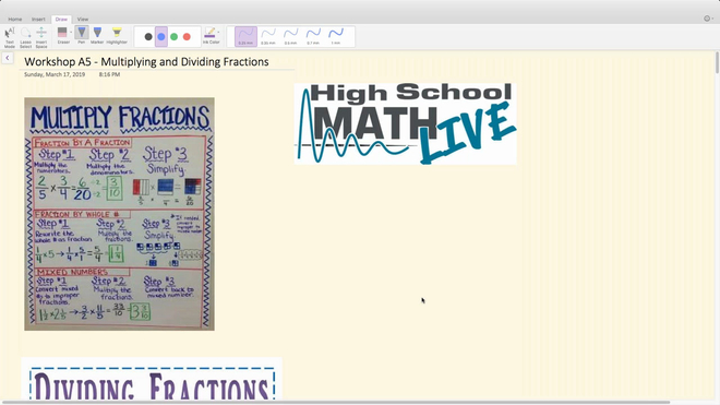 Brush Up Workshop A5 - Multiplying and Dividing Fractions.mp4