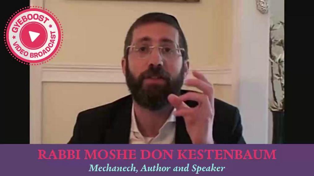 # - Rabbi Moshe Don Kestenbaum - La vida no se trata de rachas